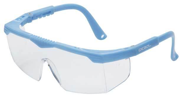 Dětské ochranné brýle SAFETY KIDS, modré