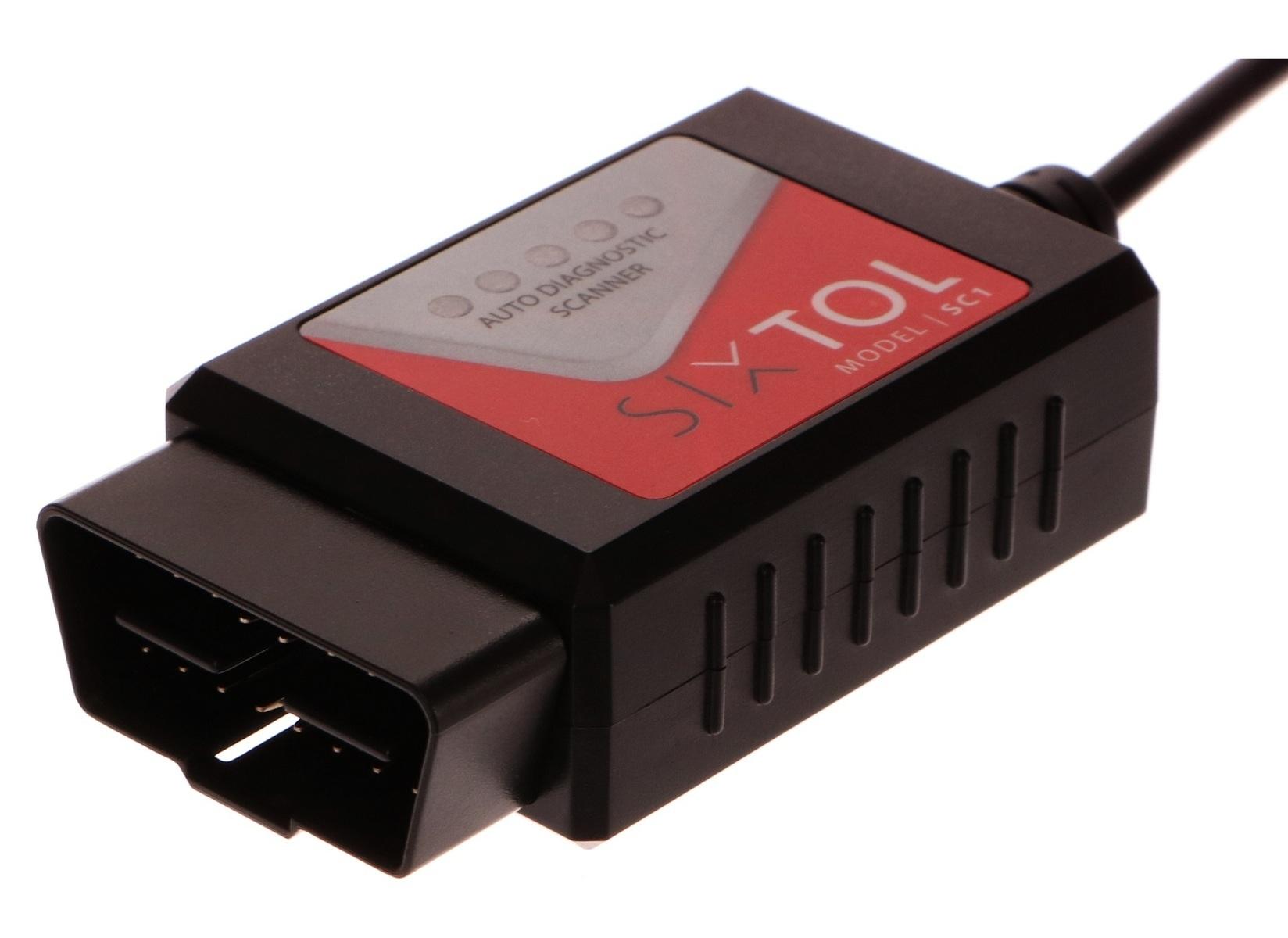 Diagnostika univerzální SC1 OBD2 USB + Touchscan CZ - SIXTOL
