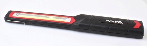 Dílenská montážní lampa LED COB 3W, nabíjecí USB, s hákem na zavěšení - ASTA