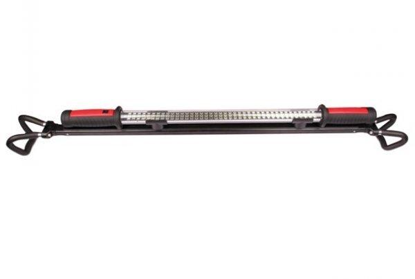 Dílenská montážní lampa 120 LED SMD, nabíjecí, s nastavitelným držákem a háčky - ASTA