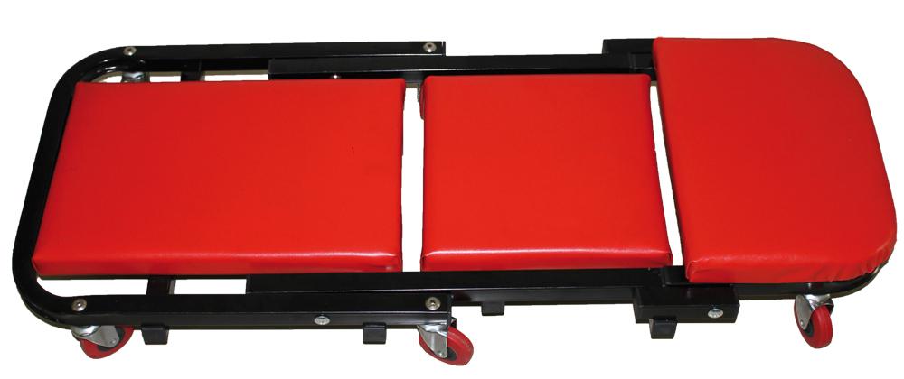 Dílenské skládací lehátko / sedátko BSM5, 2 v 1, polstrované
