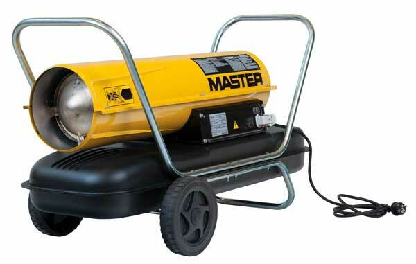 Dílenské topidlo naftové, mobilní, 44 kW - MASTER B150CED