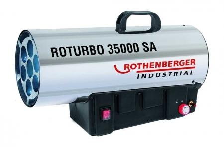 Dílenské topidlo plynové, přenosné, 18 - 34 kW - Rothenberger ROTURBO 35000SA