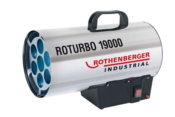 Dílenské topidlo plynové, přenosné, 16 - 18 kW - Rothenberger ROTURBO 19000 18kW