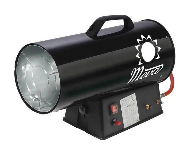 Dílenské topidlo plynové, přenosné, 9 - 30 kW - MEVA TP17002