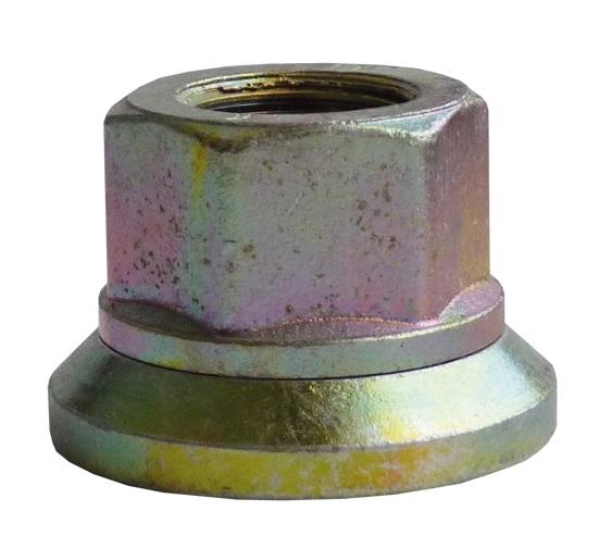 Disková matice M18x1,5, výška 28 mm, klíč 27, otočná podložka, Avia A30 31 - Ferdus 11.124