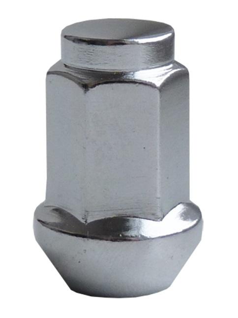 Disková matice uzavřená M12x1,5 kužel 60 stupňů, výška 35 mm, klíč 17 - Ferdus 11.186