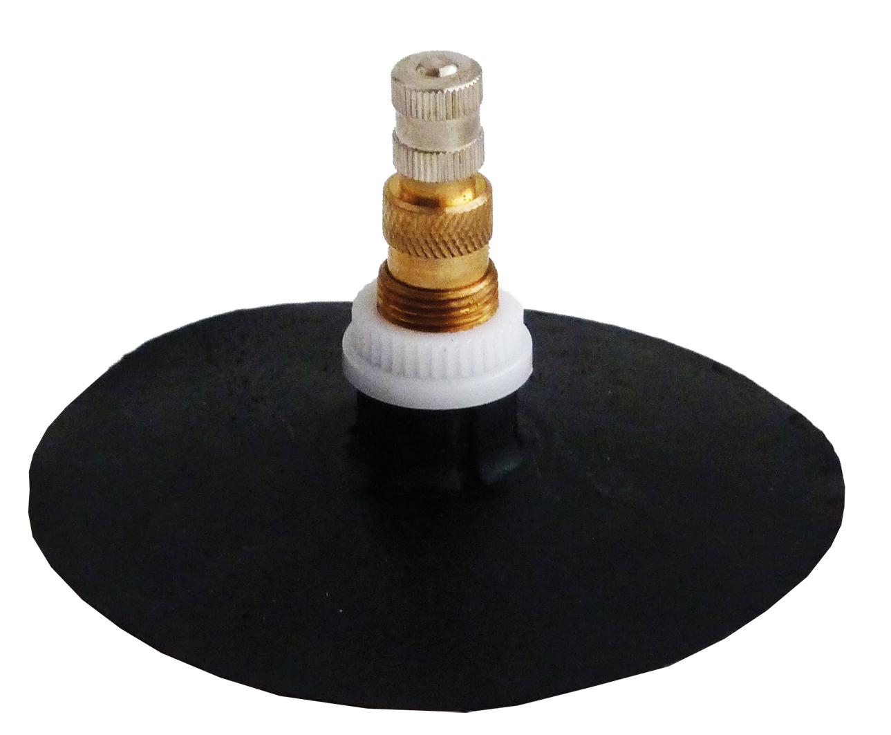 Dušový ventil s patkou GP6/100, průměr 100 mm, AGRO - 1 kus - Ferdus 11.79