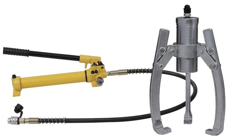 Dvou- nebo tříramenný hydraulický stahovák HHL-50F, síla 50 t