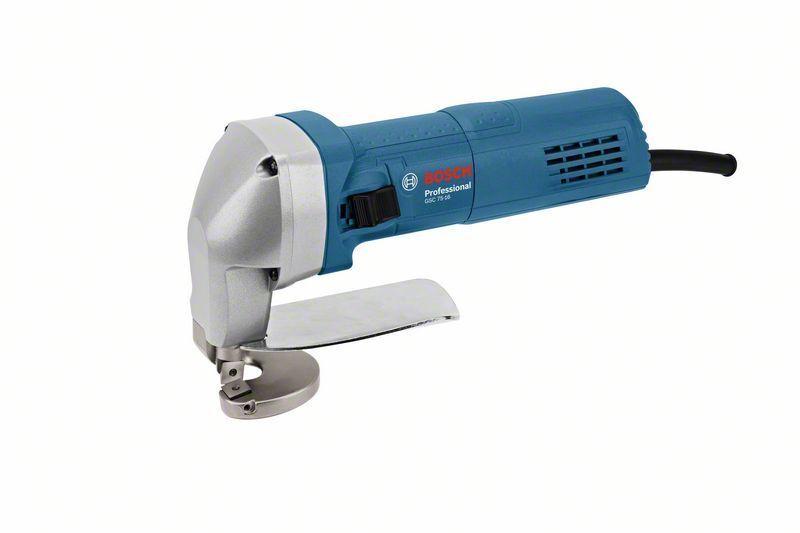 Elektrické nůžky na plech Bosch GSC 75-16 Professional, 750W, střih 1,6 mm - 0601500500