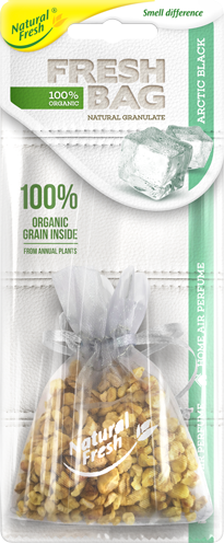Vůně do auta Fresh BAG Organic Arctic Black