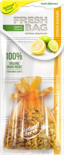 Vůně do auta Fresh BAG Organic Citrus Squash