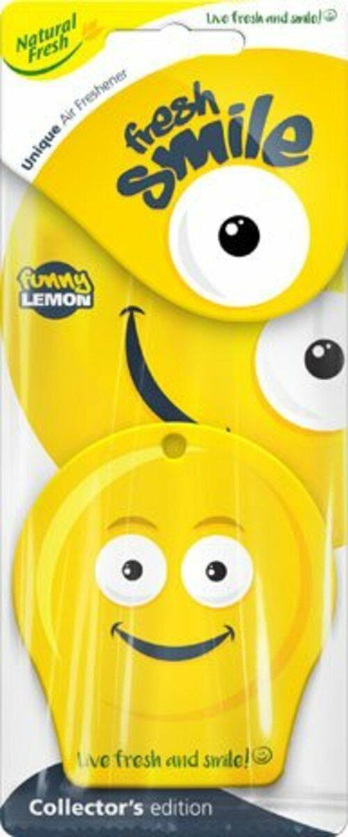 Vůně do auta Fresh Smile Funny Lemon