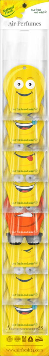 Vůně do auta Fresh Smile Mix 24 ks