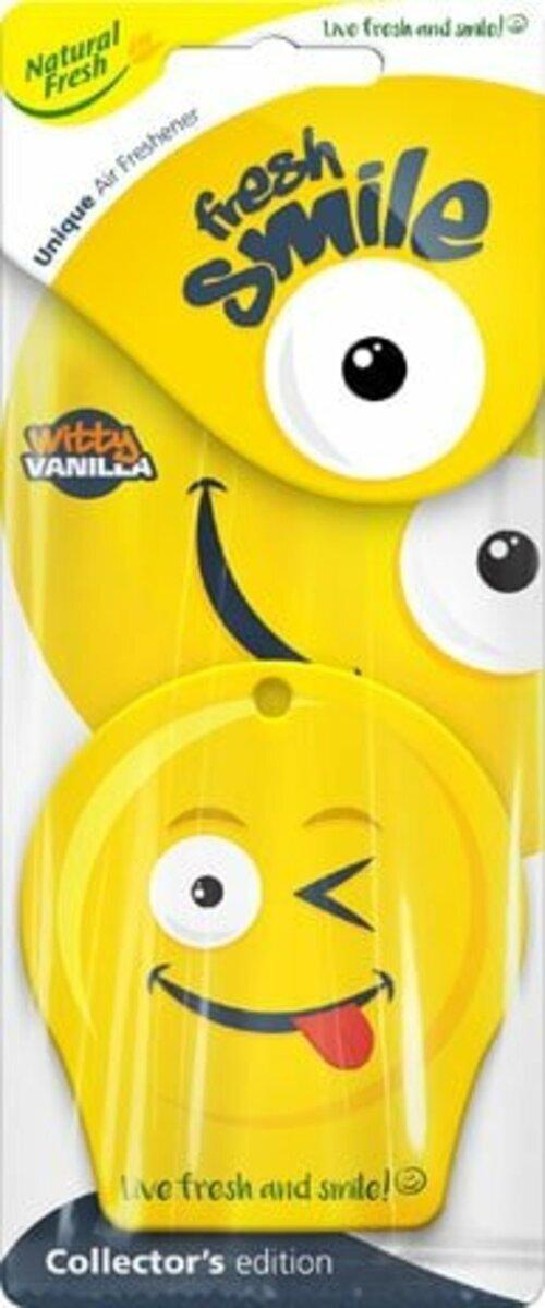 Vůně do auta Fresh Smile Witty Vanilla