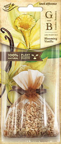 Vůně do auta Fresh BAG Garden Botanica Blooming Vanilla 15g