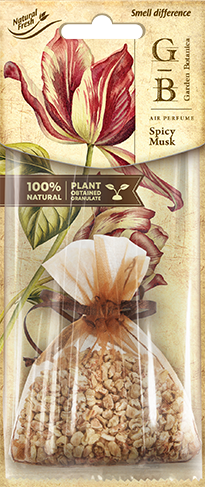 Vůně do auta Fresh BAG Garden Botanica Spicy Musk 15 g