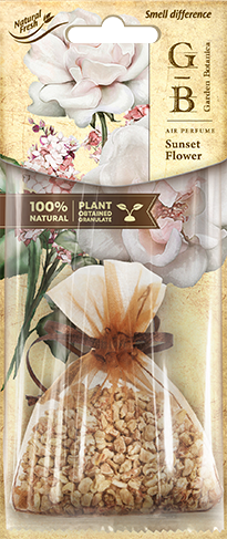 Vůně do auta Fresh BAG Garden Botanica Sunset Flower 15 g