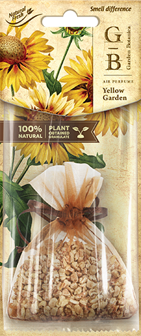 Vůně do auta Fresh BAG Garden Botanica Yellow Garden 15 g
