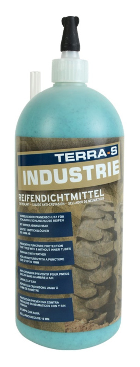 Gel pro prevenci defektů - ochranu pneu, do rychlosti 80 km/h, 950 ml - TERRA-S