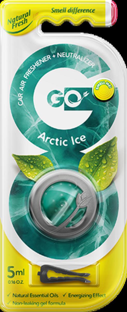 Vůně do auta Go Gel Arctic Ice 5 ml