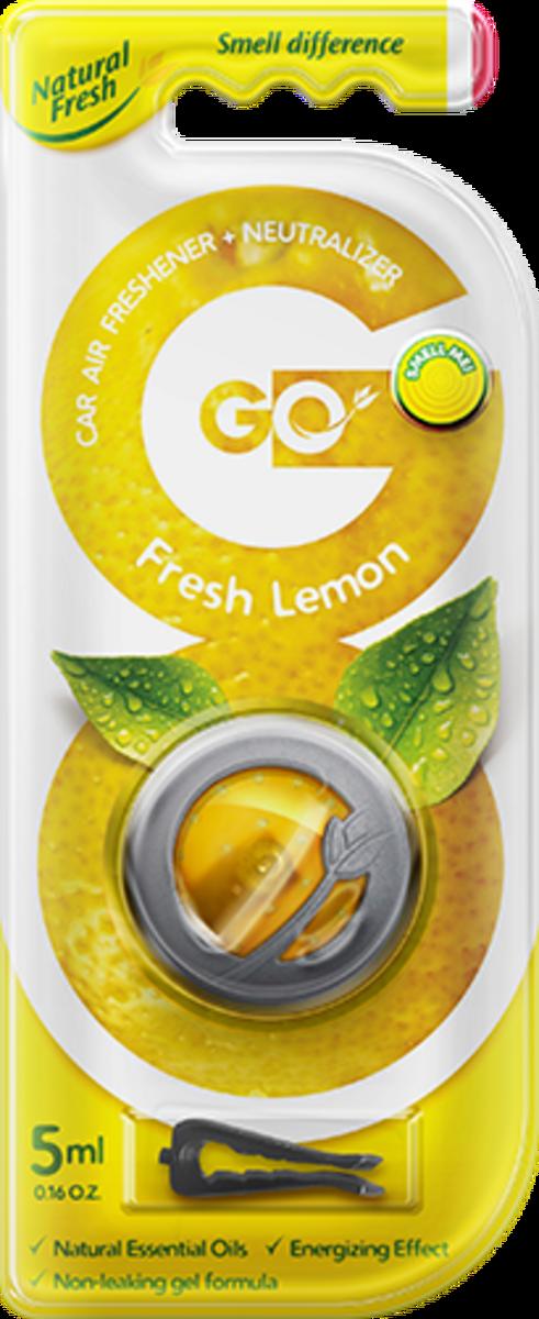 Vůně do auta Go Gel Fresh Lemon 5 ml