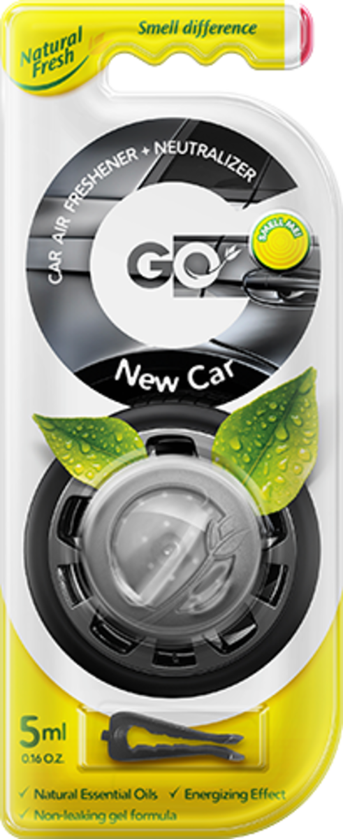 Vůně do auta Go Gel New Car 5 ml