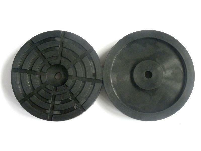 Gumová podložka zvedáku 140x25 mm, kulatá