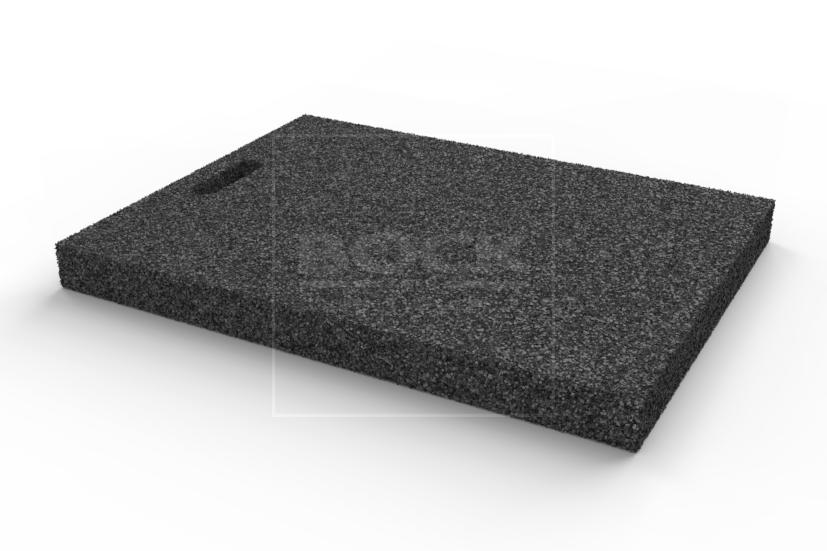 Výplňová podložka 650x450x50 mm, gumová, pro pro čtyřsloupové a nůžkové zvedáky
