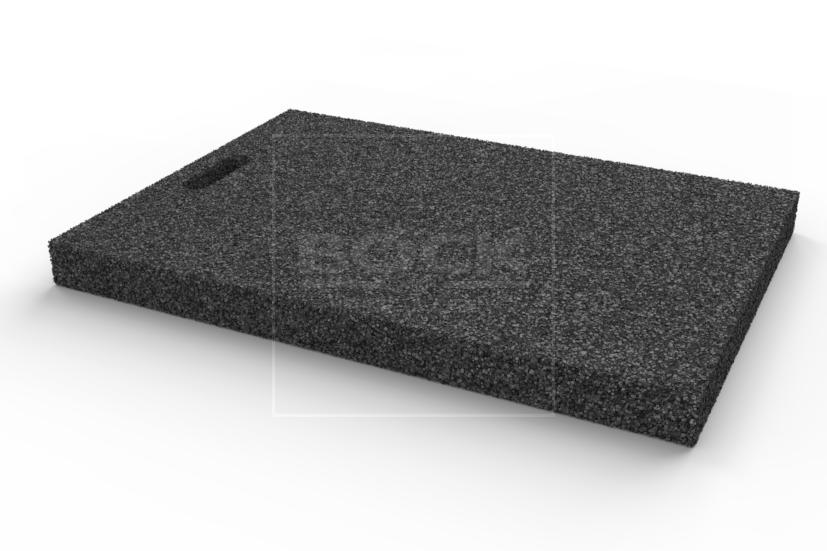 Výplňová podložka 650x460x50 mm, gumová, pro pro čtyřsloupové a nůžkové zvedáky