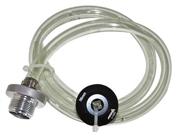 Hadice k vypouštění oleje z filtru, benzinové motory VAG 1.8 a 2.0 l, s adaptérem - ASTA