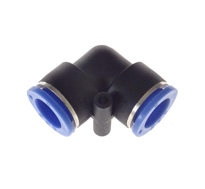 Rychlospojky hadicové úhlové - kolínko, různé průměry, plast