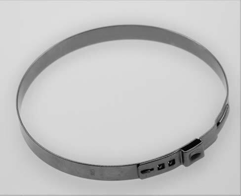 Hadicové spony nerezové, průměr 102,5 mm, balení 10 ks