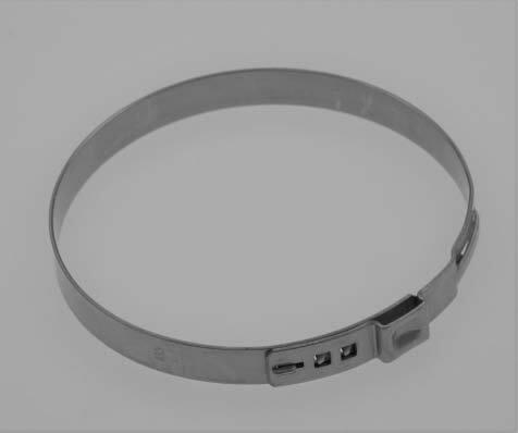 Hadicové spony nerezové, průměr 83,5 mm, balení 10 ks