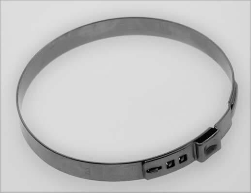 Hadicové spony nerezové, průměr 85,5 mm, balení 10 ks