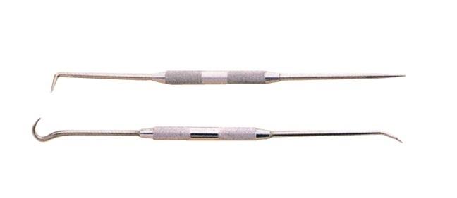 Háky montážní oboustranné na vytažení gufer, ó-kroužků, 2 kusy - JONNESWAY AI030025