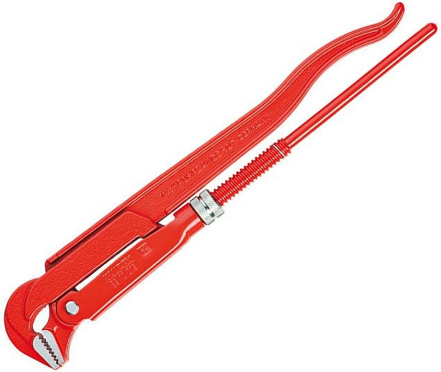 Hasák, rozsah 130 mm, zahnuté čelisti 90°, délka 750 mm - KNIPEX 8310040