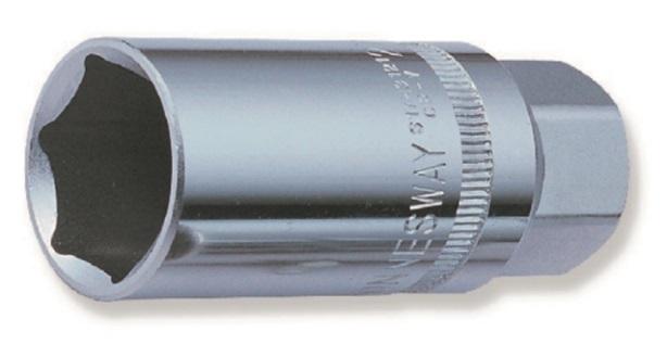 """Hlavice na zapalovací svíčky, 1/2"""", 21mm, 6-hranná s magnetem - JONNESWAY S17M4121"""