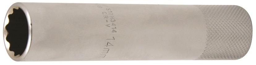 """Hlavice na zapalovací svíčky, 3/8"""", 14mm, 12-hranná - JONNESWAY S17H3414"""