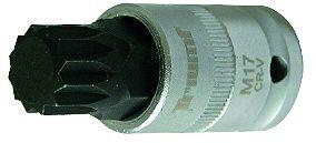 """Hlavice zástrčná 1/2"""", XZN M17 x 60 mm, tvrzená"""