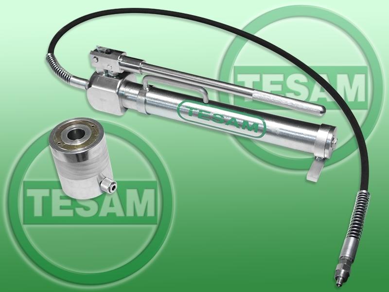 Hydraulická pumpa a pístnice 25 tun, pro nákladní vozidla a autobusy - TESAM TS1794