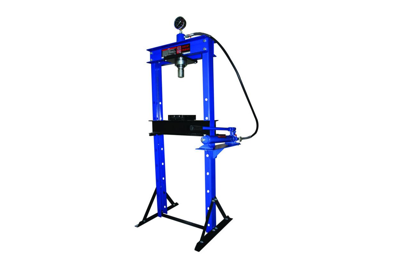 Hydraulický lis 20 tun, posuvná hlava a manometr - ASTA