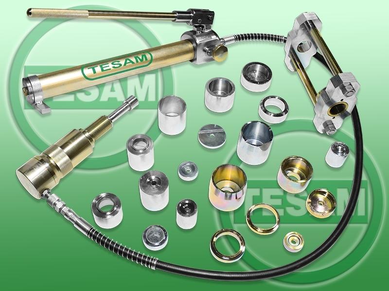 Hydraulický stahovák na kulové čepy VW, IVECO, MERCEDES-BENZ, OPEL - TESAM TS1038