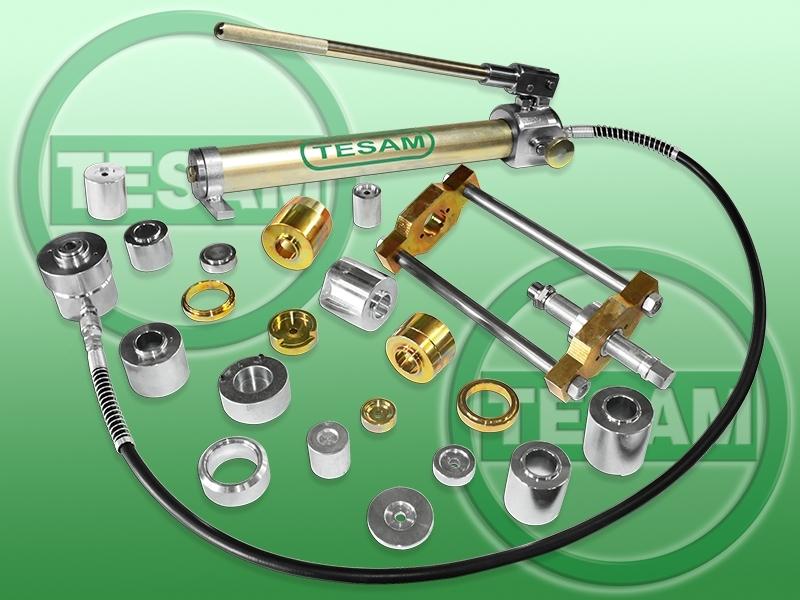 Hydraulický stahovák na kulové čepy VW, IVECO, OPEL, MERCEDES-BENZ - TESAM TS600