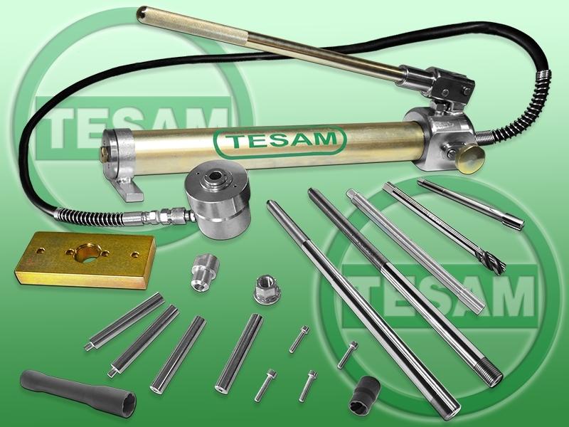 Hydraulický stahovák na vstřikovače 2.0 DCI / CDTI, i na utržené vstřikovače - TESAM TS806