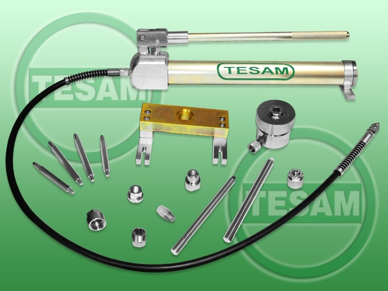 Hydraulický stahovák na vstřikovače BMW BOSCH Common Rail, i piezoelektrické - TESAM TS821