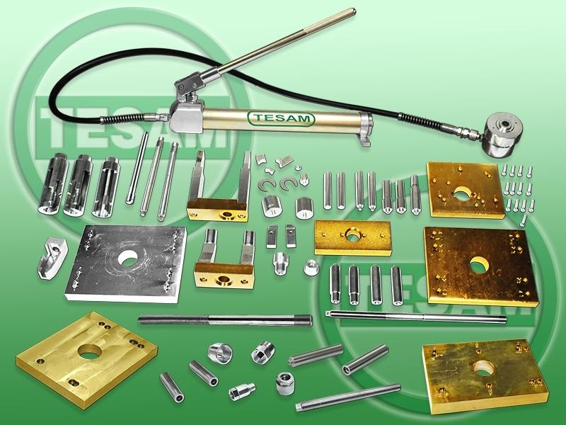 Hydraulický stahovák na vstřikovače CDI, HDI, HPI, CDTI, DCI, JTD - TESAM TS727