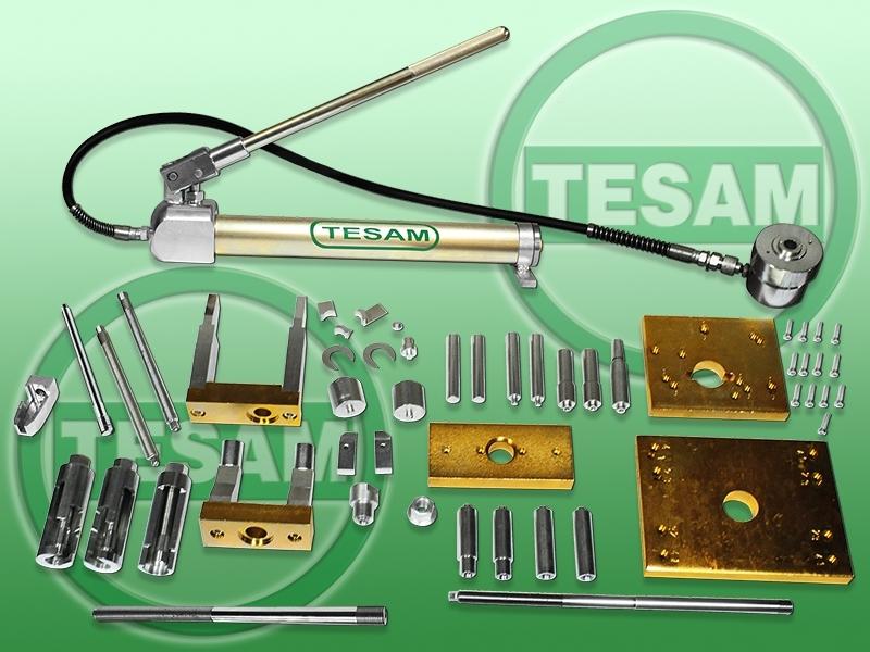 Hydraulický stahovák na vstřikovače HDI, CDI, HPI, CDTI, DCI Common Rail - TESAM TS442