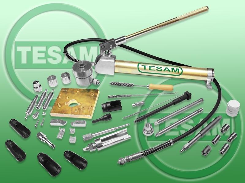 Hydraulický stahovák na vstřikovače HDI, CDI, TDCI Common Rail - TESAM TS303