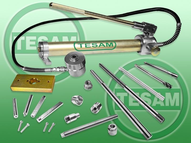 Hydraulický stahovák vstřikovačů 2.0 a 2.3 dCi a CDTI, i na ulomené vstřiky - TESAM TS1080
